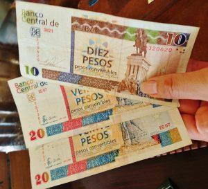 キューバ 2種類の通貨