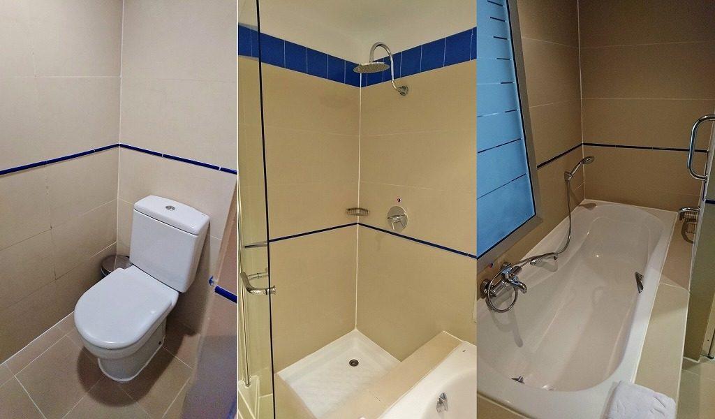 ハバナのホテル バスルーム