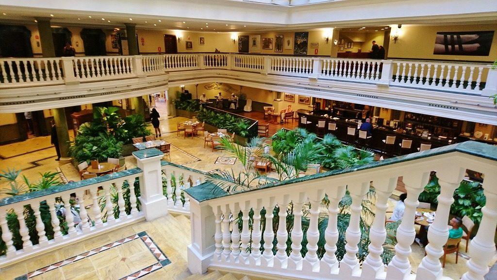 ハバナのホテル ロビー