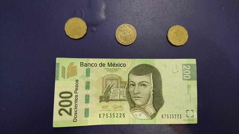 カンクン 両替 メキシコ どれくらい
