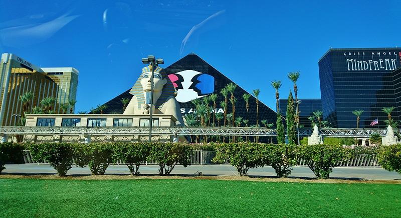 ラスベガス ピラミッド ルクソール