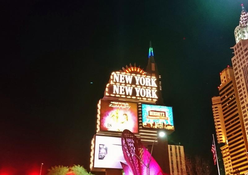ラスベガス ニューヨークニューヨーク ホテル