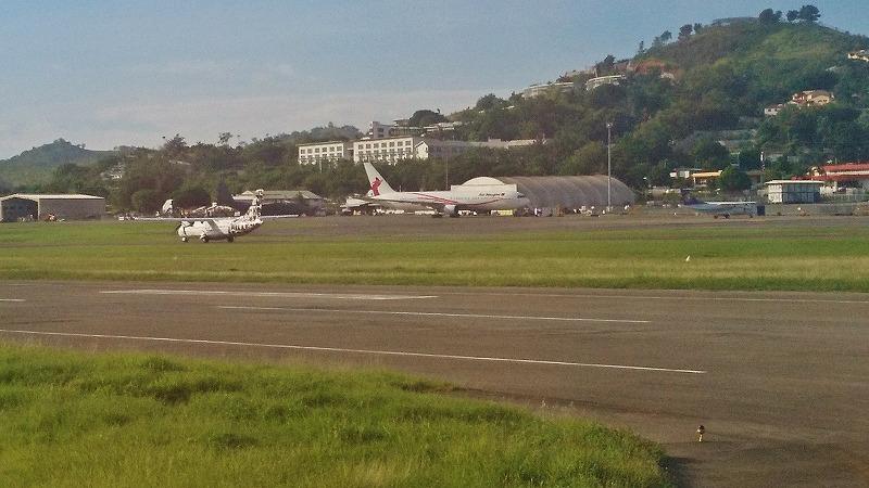 パプアニューギニア ポートモレスビー 空港