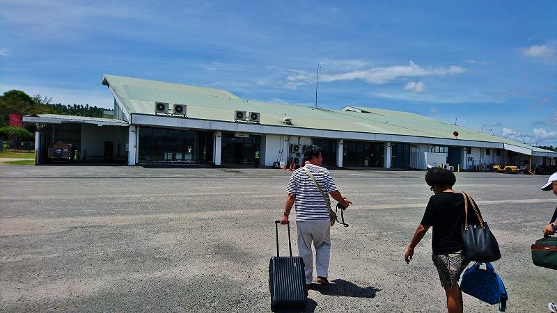 ココポ空港 ラバウル パプアニューギニア