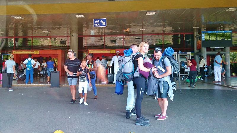 キューバ ハバナ 空港