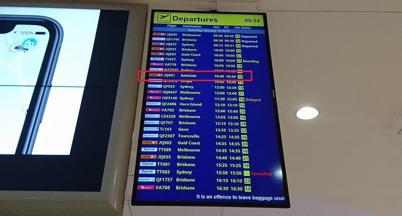 ジェットスター ケアンズ空港 国内線