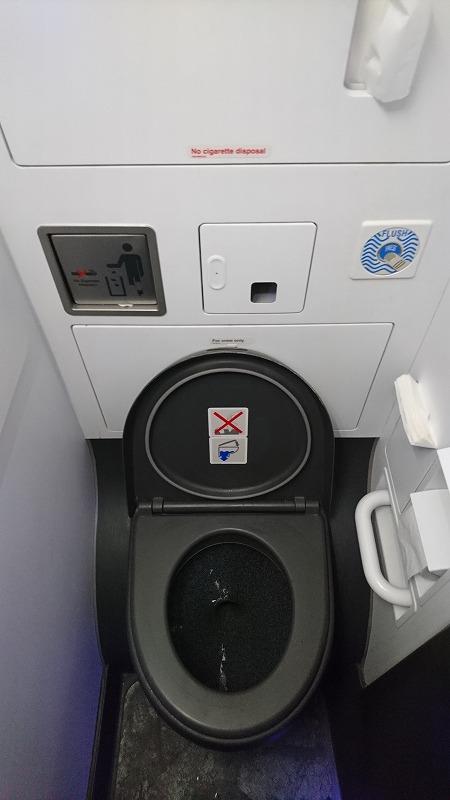 ジェットスター A320 トイレ