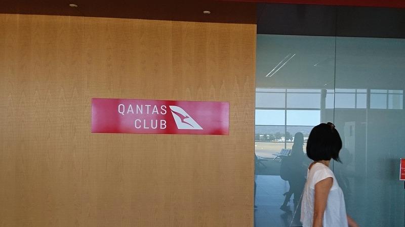 アデレード空港 カンタス