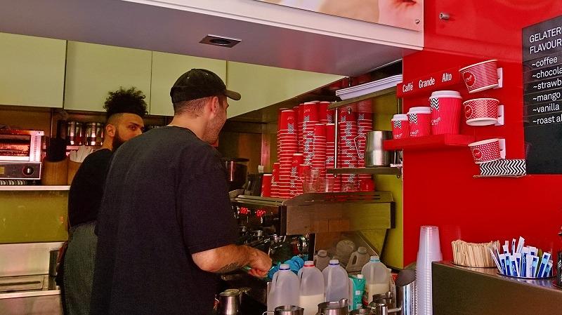 アデレード ランドルモール カフェ