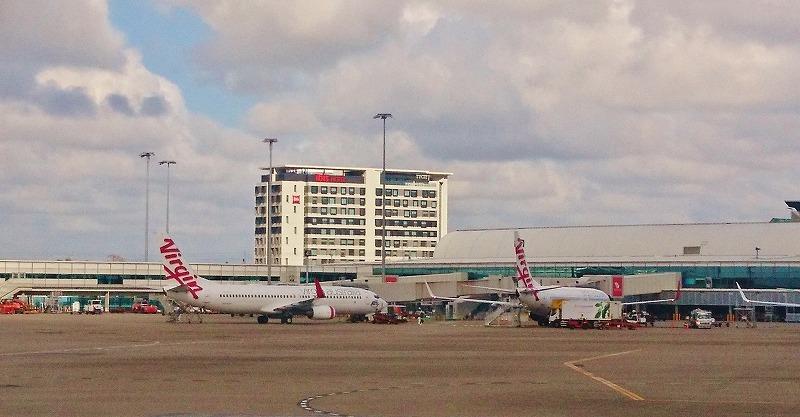 ブリスベン空港 オーストラリア 国内線