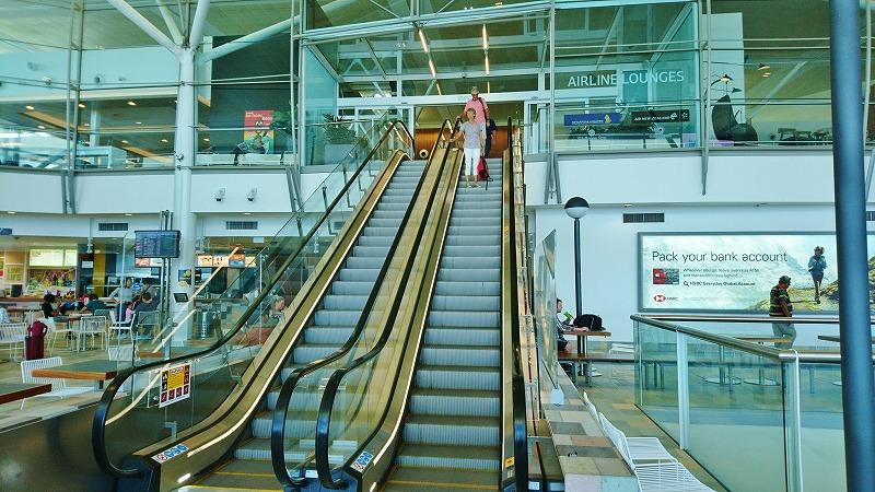 ブリスベン空港 国際線ターミナル 出発ロビー プライオリティ・パス ラウンジ
