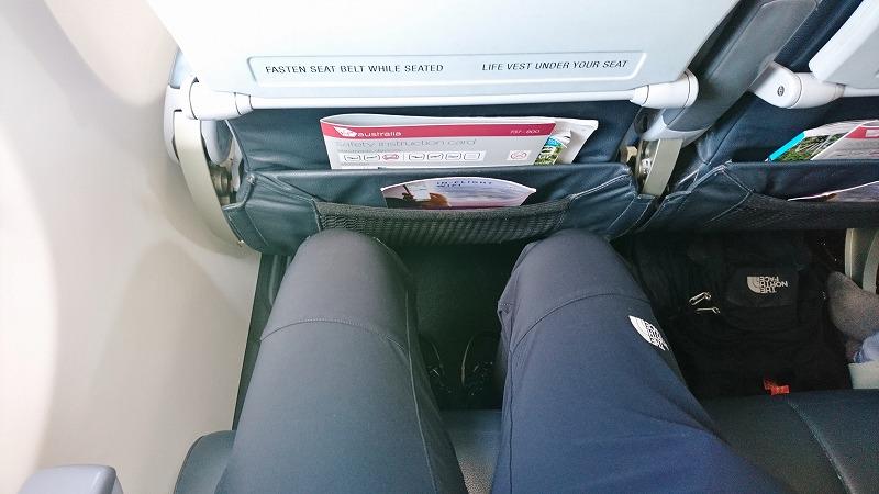 バヌアツ 行き方 VIRGIN AUSTRALIA航空 シートピッチ