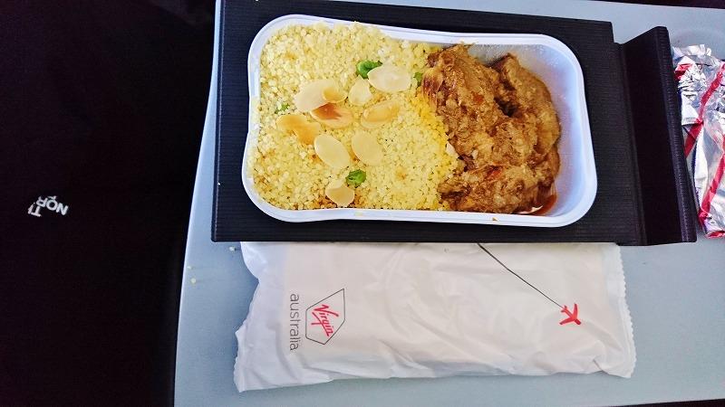 ヴァージン・オーストラリア航空 機内食 国際線