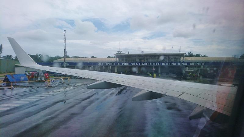 バヌアツ ポートビラ国際空港