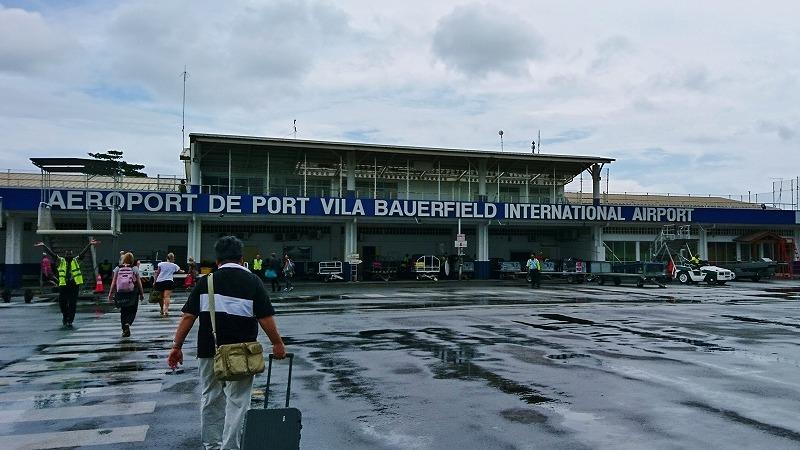 ポートビラ国際空港 バヌアツ