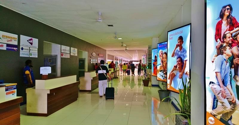 バヌアツ ポートビラ国際空港 国際線ターミナル