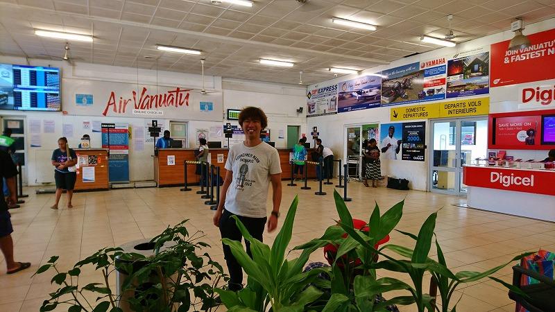 バヌアツ ポートビラ 国際空港 国内線ターミナル