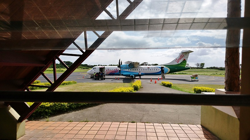 タンナ島 バヌアツ航空