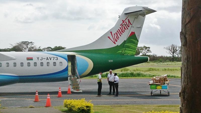 バヌアツ航空 ATR