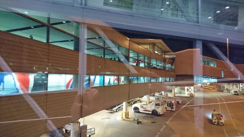ブリスベン空港 国際線ターミナル 到着