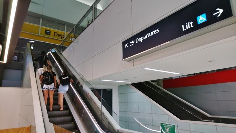ブリスベン空港 国内線ターミナル